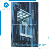 подъем 800kg 1.0m/S квадратный панорамный, лифт пассажира, лифт замечания