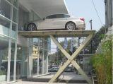 Lo scantinato sotterraneo idraulico Scissor l'elevatore dell'automobile