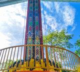 China popular parque de diversiones al aire libre emocionante paseo de la torre de caída de los asientos 12/16