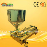 Macchina di rifornimento liquida semi automatica per crema/petrolio/unguento/bevanda