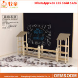 就学前の子供の子供の安い家具は木製の椅子および表をセットする