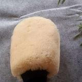 Первоначально перчатка мытья овчины фабрики для экспорта