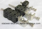 동축 케이블에 사용되는 광섬유 피더 케이블 클램프