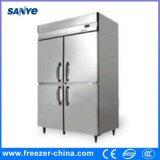 Frigorifero di raffreddamento del portello dell'acciaio inossidabile 4 e di congelamento dritto della cucina