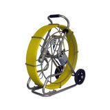 Fiberglas-Kupfer-Mittellinien-Kabel CCTV-Abwasserkanal-videoinspektion-Kamera 150m Durchmesser-9mm
