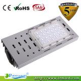 Indicatore luminoso di via della lampada 50W LED del giardino della strada di zona del LED