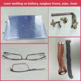 A melhor qualidade quatro - máquina de soldadura automática dimensional do laser pulsado de YAG para quadros de Eyewear de Glod Titanium//aço inoxidável