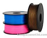Vente en gros 1.75mm / 3mm PLA / ABS / Flexible / Carbon / TPU / Wood / Nylon 3D Printer Filaments