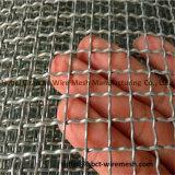 treillis métallique 65mn tissé serti lourd pour le tamisage et les broyeurs de les miens