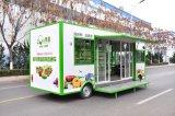De Vrachtwagens van de Dienst van het Voedsel van de groente en van het Fruit voor Verkoop (Ce)