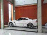Garage que estaciona la elevación del estacionamiento del coche de poste cuatro