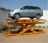 Elevador do estacionamento do carro do porão da garagem