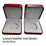 硬貨ボックス、標準的な硬貨ボックス、贅沢な革硬貨ボックス