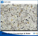 Ausgeführter SteinkücheCountertop für Hauptdekoration mit SGS-Report (doppelte u. mehrfache Farben)
