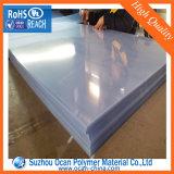 300 Mícron folha rígida de PVC transparente para o material na bandeja de ovos