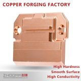 CNCの機械化を用いる精密銅の付属品