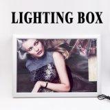 Tejido de animación LED Light Box Firmar, Foto Caja de luz