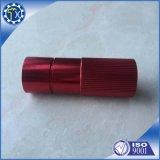 Pezzi meccanici CNC anodizzati rossi su ordinazione dell'alluminio