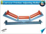 Transportador de rolos Friction-Aligning