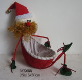 Decoração de Natal - Velho Cesto (MX688)