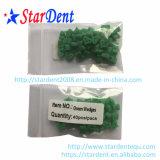 Zahnmedizinische Plastikumrissene Grün-Schnittkeile
