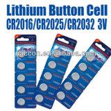 Cr2032 3V Lithium-Tasten-Zellen-Batterie