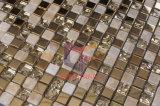 Mattonelle di mosaico vetro/metallo del marmo della miscela dell'acciaio inossidabile (CFM752)