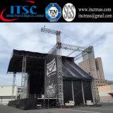 Lichtbogen-Binder-Dach-Beleuchtungssystem mit Lautsprecher-Torpfosten