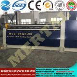 Heiß! Hydraulische Platten-Walzen-Maschine CNC-Mclw12-6X2500, Platten-verbiegende Maschine