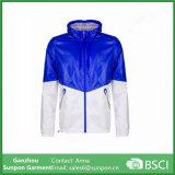 Ropa de primavera para hombre y chaqueta azul Windbreaker para mujer