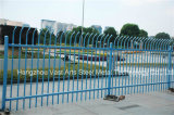 Haohan Beautiful Security Garden Industrial Residential Blue Arc Fence 44