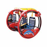 Consola del juego del oscilación de la diversión del coche de barra del Le del paseo del Kiddie (ZJ-LBC-01)