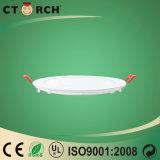 Luz de painel redonda do diodo emissor de luz de Ctorch da alta qualidade com Ce 9W