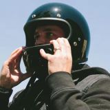 点のモーターバイクのためのHarleyの太字のヘルメットかCasco