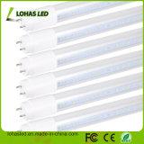 투명한 덮개 우유 덮개 T8 18W 찬 백색 LED 관 빛