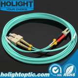 Sc aan LC Om3 2.0mm DuplexVezel Patchcords