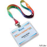 Lanyard con logotipo de la compañía , la cuerda de seguridad promocional , tarjeta de identificación de la cuerda de seguridad Holder