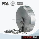 Sanitarios de acero inoxidable 3Blanco Tapa de extremo (Jn-FL2003)