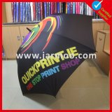 Guarda-chuva de golfe dobrável duplo dobrável Custom