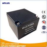 Baterias solares 12V 24ah do modelo popular do mercado europeu para backup