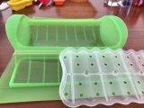 Contenitore/contenitore di vapore del silicone della materia plastica di uso di microonda