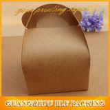 PapierTortenschachtel-Verpacken griffbrown-Kraftpapier