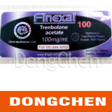 sur l'étiquette adhésive de bonne qualité faite sur commande de fiole de l'hologramme 10ml de médecine de ventes