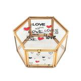 China Wholesale caja de joyas de metal chapado en oro para regalo de bodas (Jb-1073)