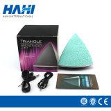Crack Dreieck-bunte leuchtende Lampe Bluetooth kleiner Lautsprecher