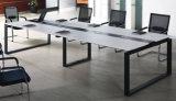 فولاذ معدن قاعدة [مفك] خشبيّة [كنفرنس تبل] /Conference مكتب ([نس-نو158])