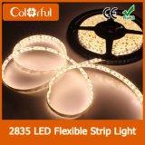 Alto indicatore luminoso di striscia flessibile impermeabile di lumen DC12V SMD2835 LED
