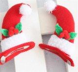 El pelo del bebé arquea a niños Hairbows Boutqiue Headwear hecho a mano de las pinzas de pelo de la cinta del Grosgrain del árbol de navidad