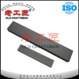 Tiras de carboneto não magnético para moldes