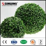 Bolas decorativas de Boxwood Topiary artificial al aire libre de la naturaleza para el jardín